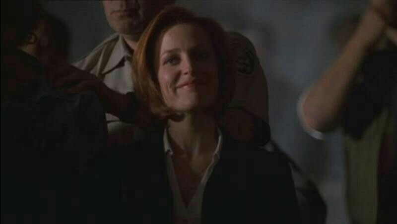 It's not right, I wanted to watch Scully that kicks ass