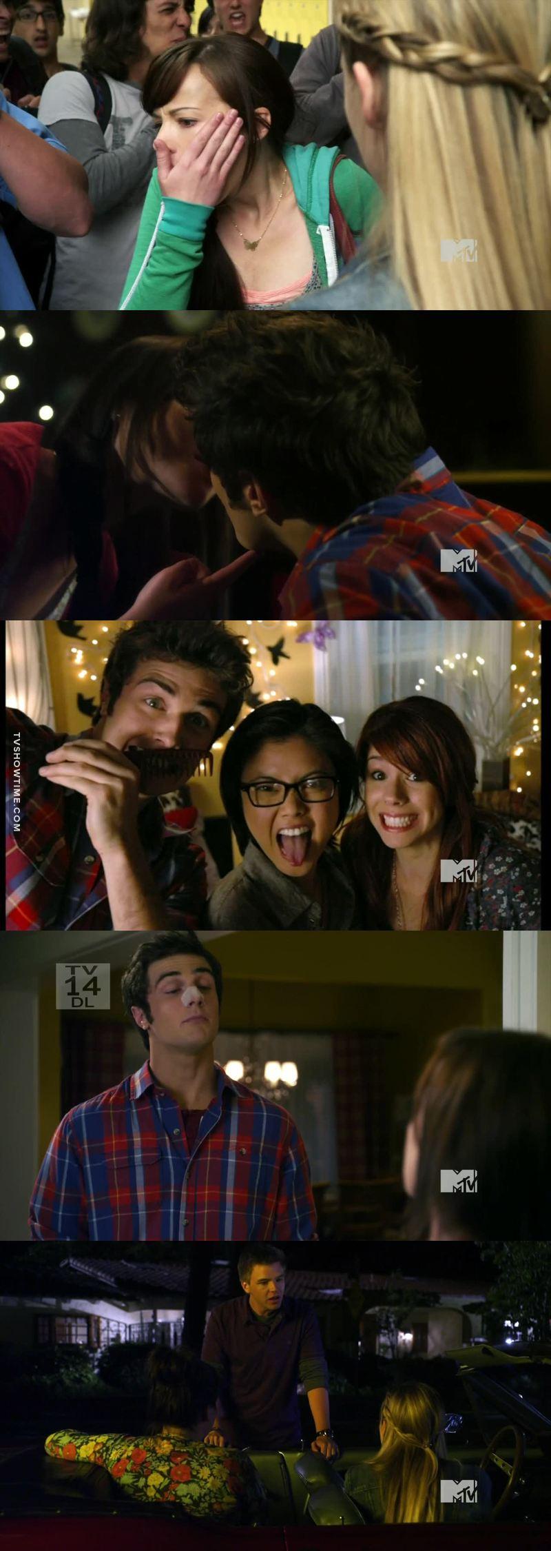 Matty a vraiment été génial dans cet épisode. Il me tarde de voir ce que ca va donner quand il dira à Jake qu'il sort avec Jenna.