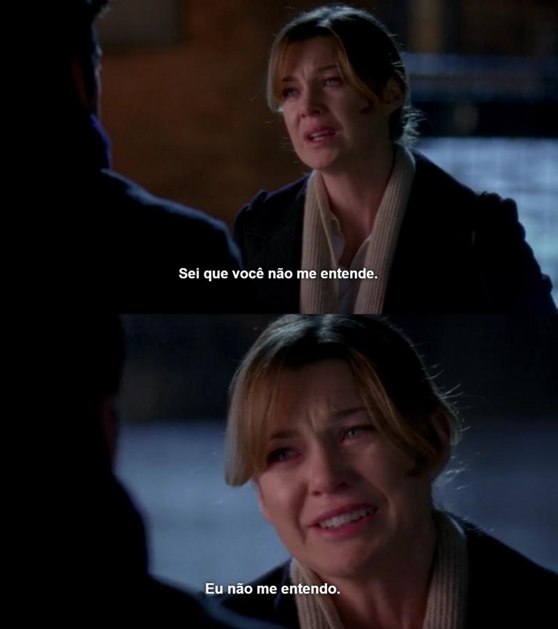 Esse episódio é só dor.