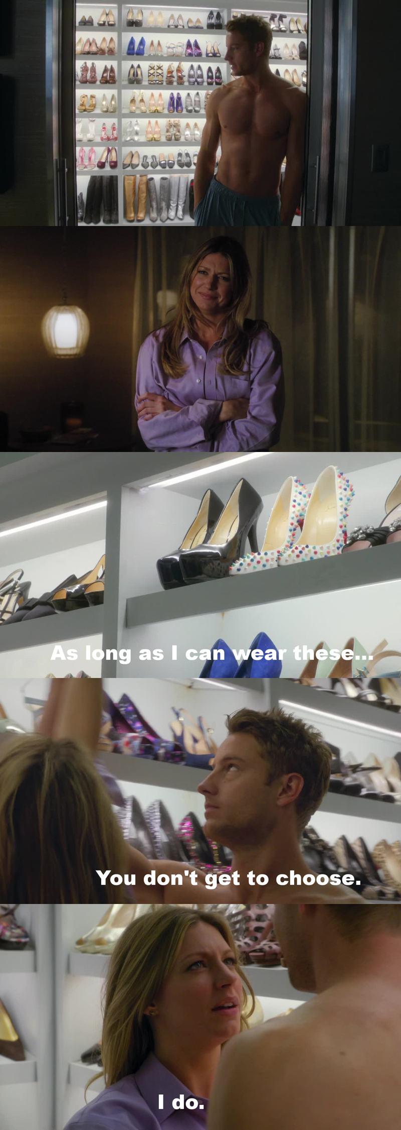I love Scott & his shoes...