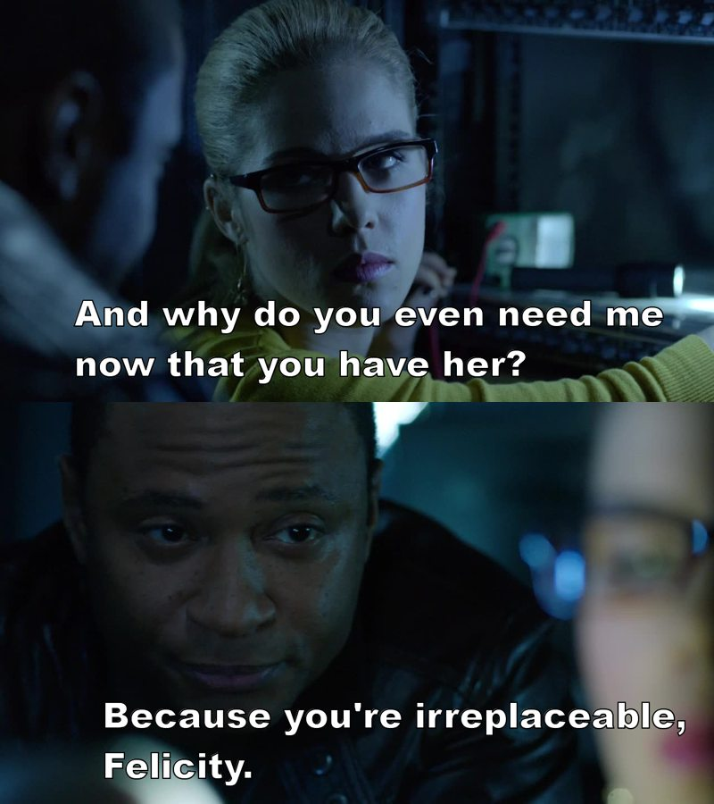 lets just talk about diggle and felicity friendship ❤️