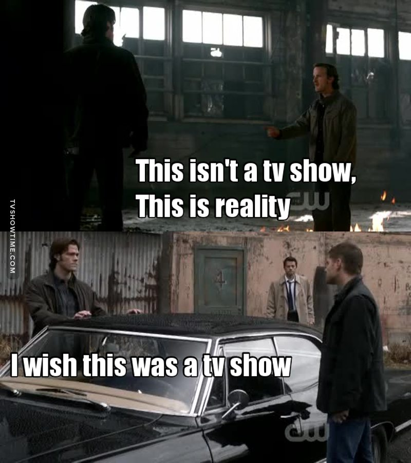 They said in a tv show 😂
