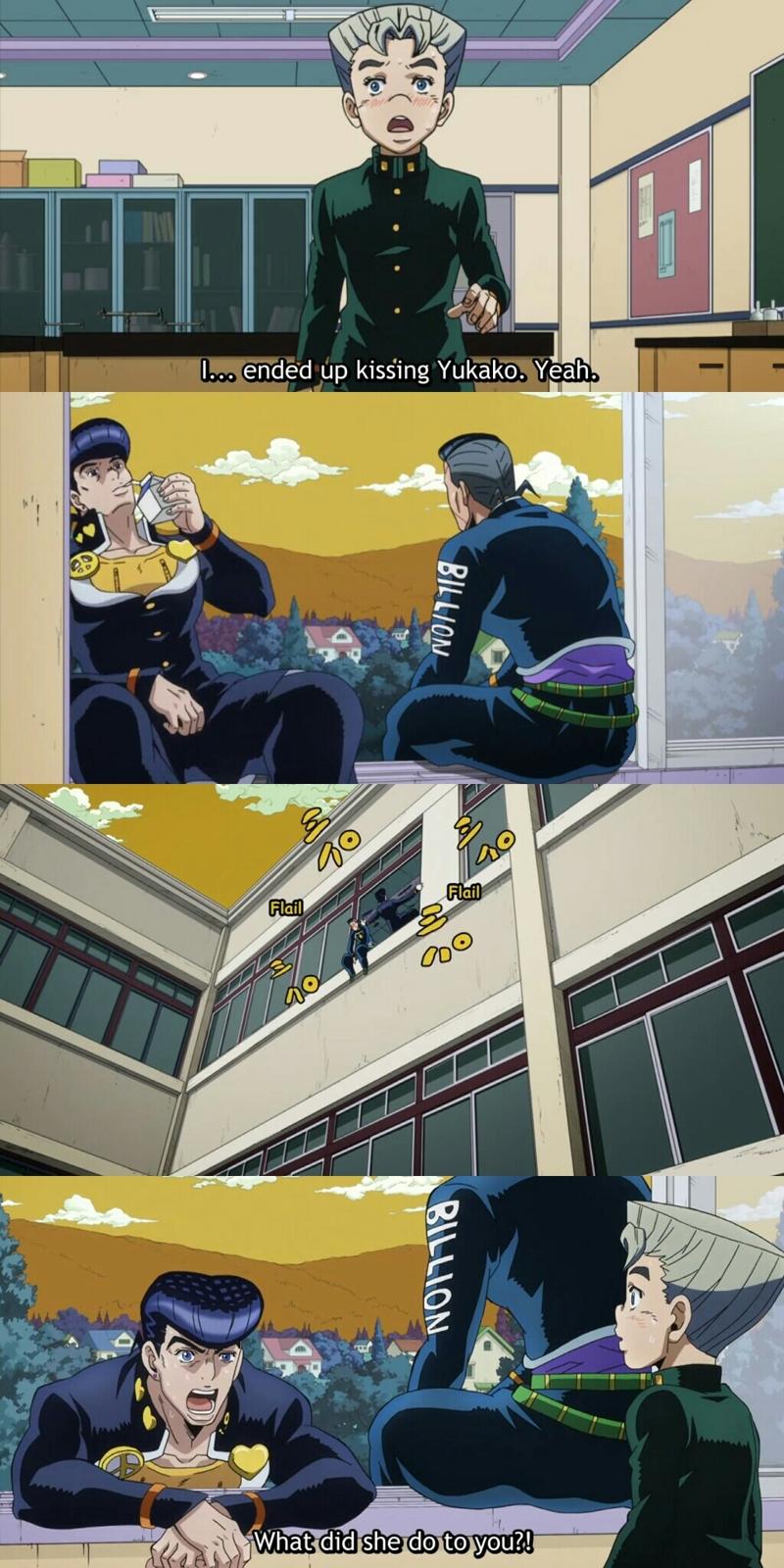 weren't we all Josuke in this episode