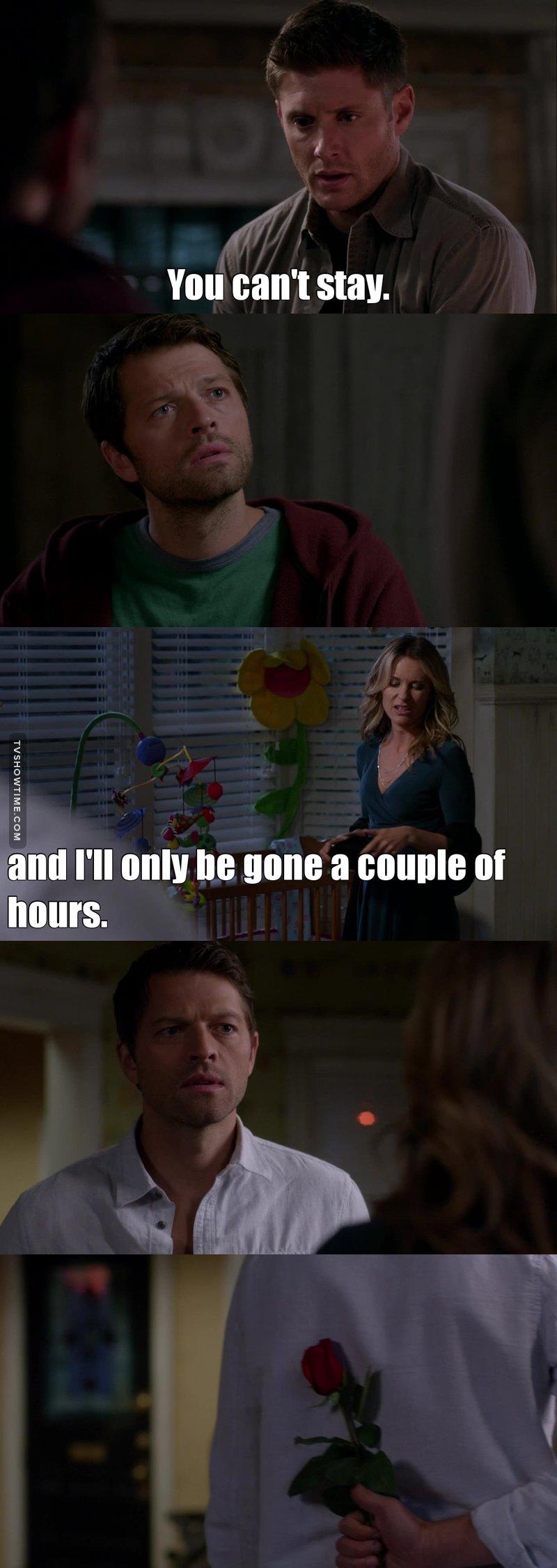 Breaking castiel's heart since the beginning of season 9