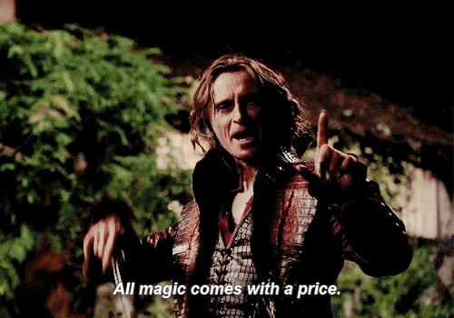 When Dean talks about magic