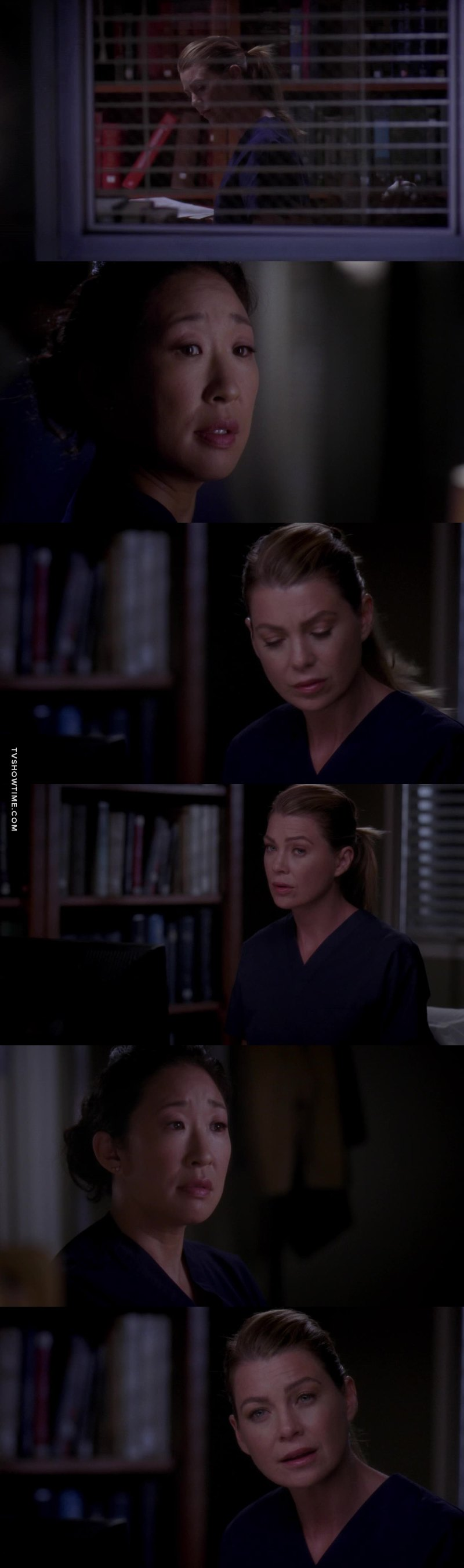 Meredith was right  Cristina doesnt have time for people who dont want the same things as her