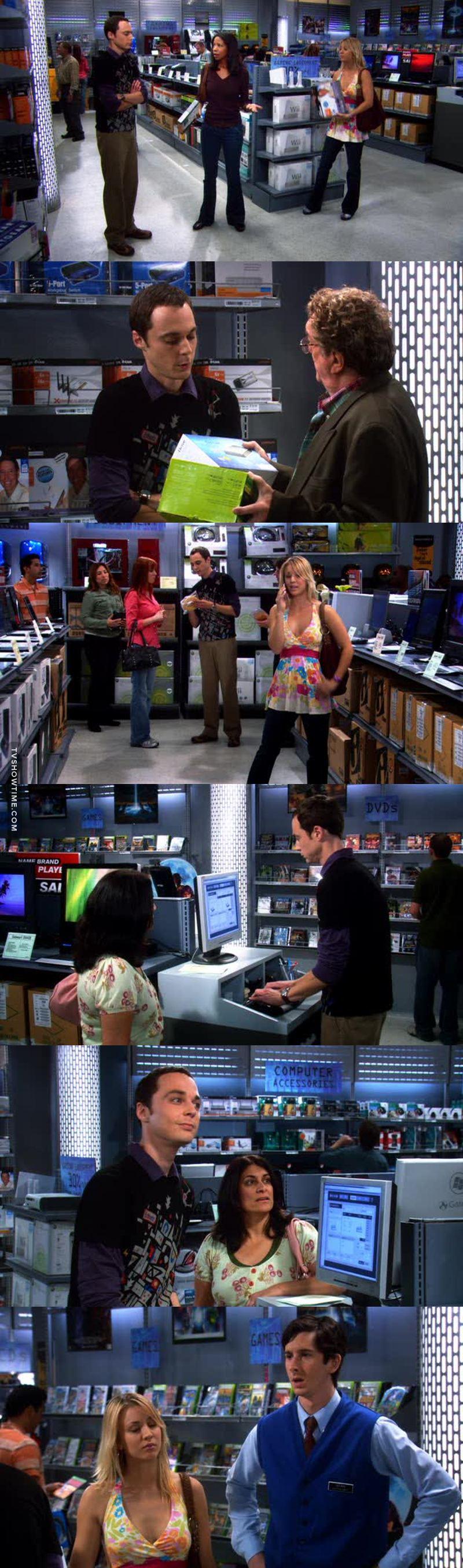 Sheldone au magasin c'était vraiment épic!😂😂