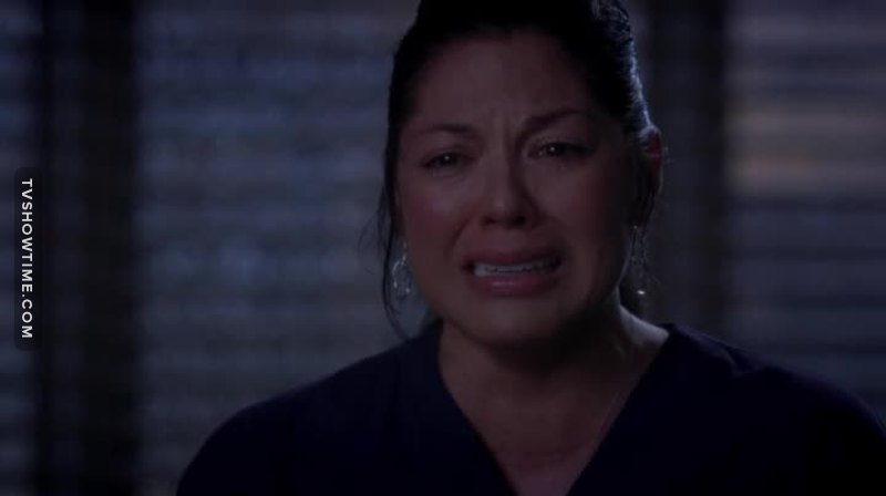 She doesn't deserve this, I'm so sad. Arizona has ruined everything.