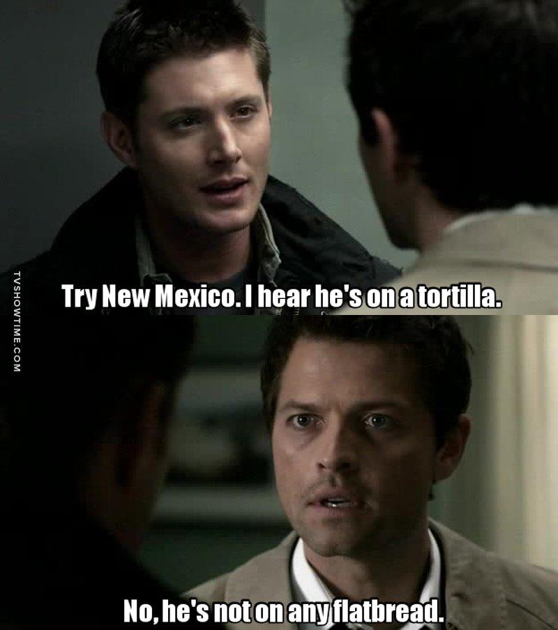 Omg Dean 😂