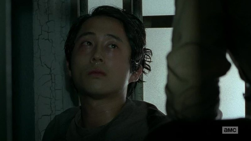 horrible to see glenn like this,  Be strong