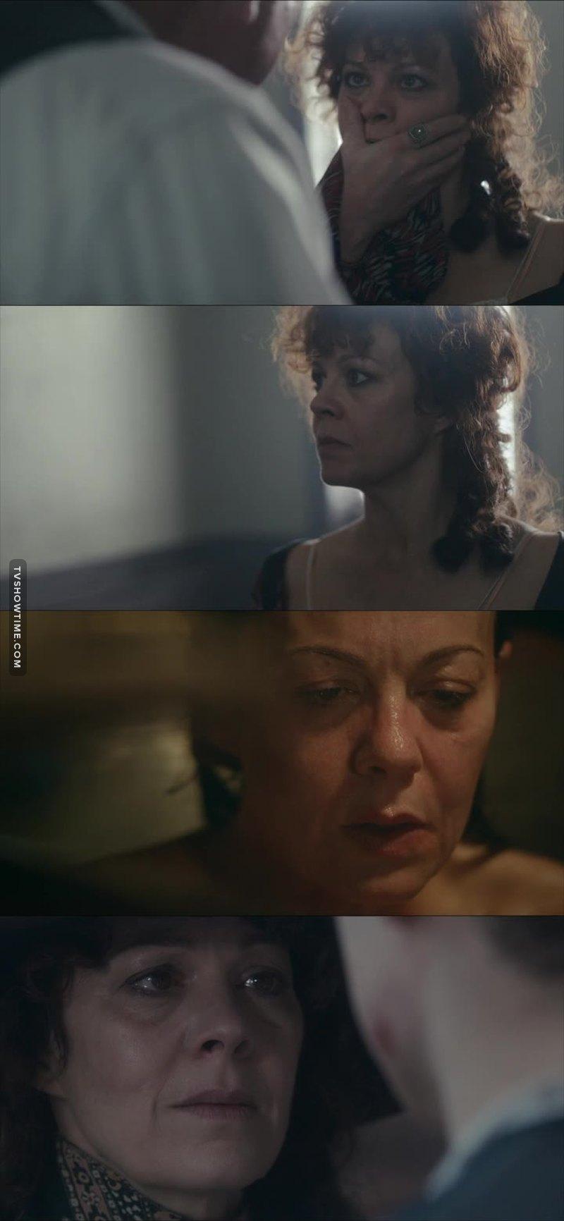 She really is a damn good actress!