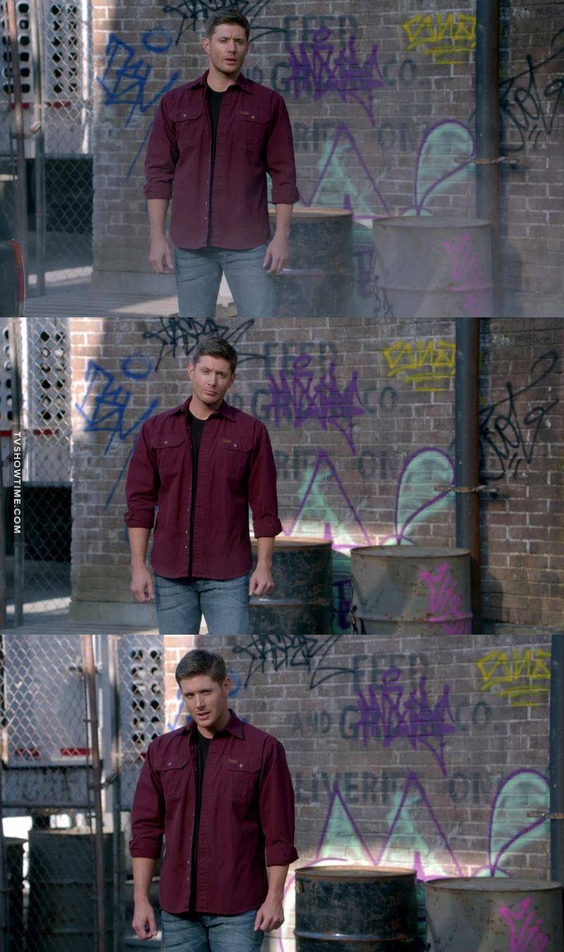 Dean was so beautiful with this shirt, oh my god
