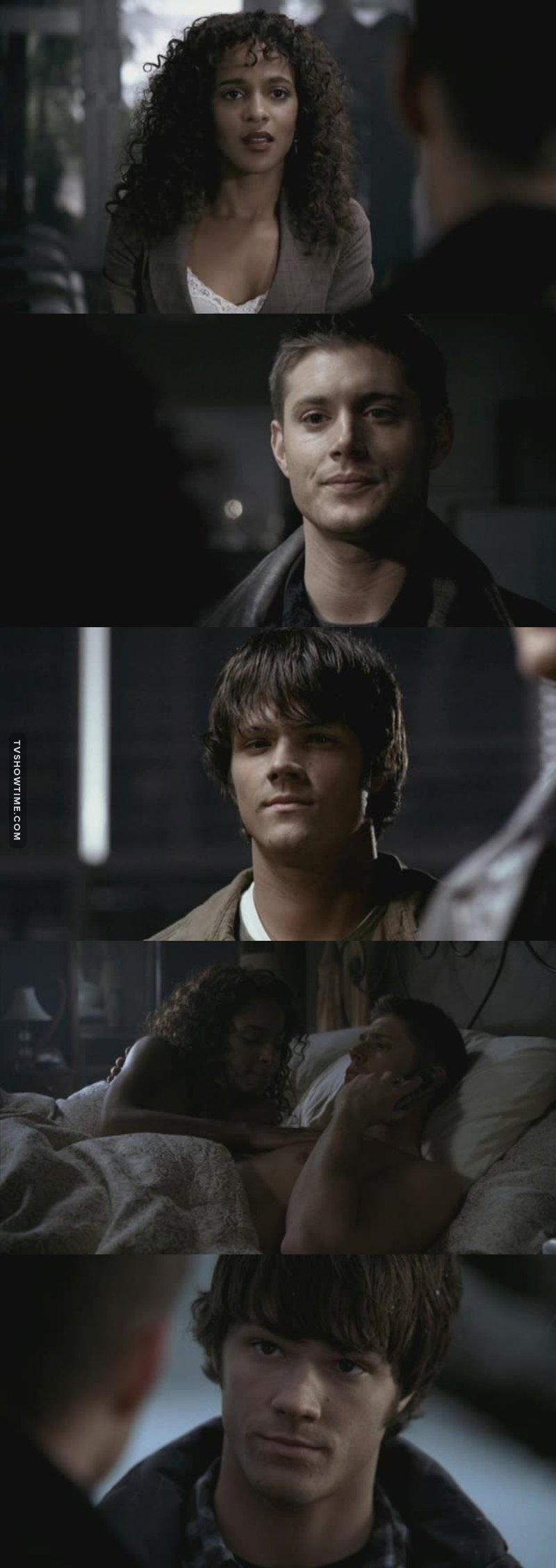 It was so sweet to see Dean's feelings and Sam's reaction to Dean's feelings😁😍