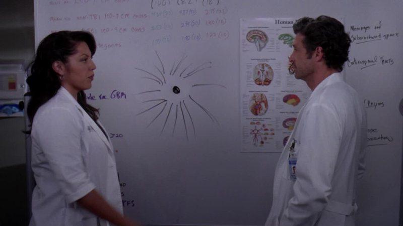 Derek Shepard: half center of the universe, half butthole.