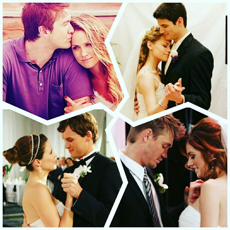 The Best & Cutest Couples in One Tree Hill ❤