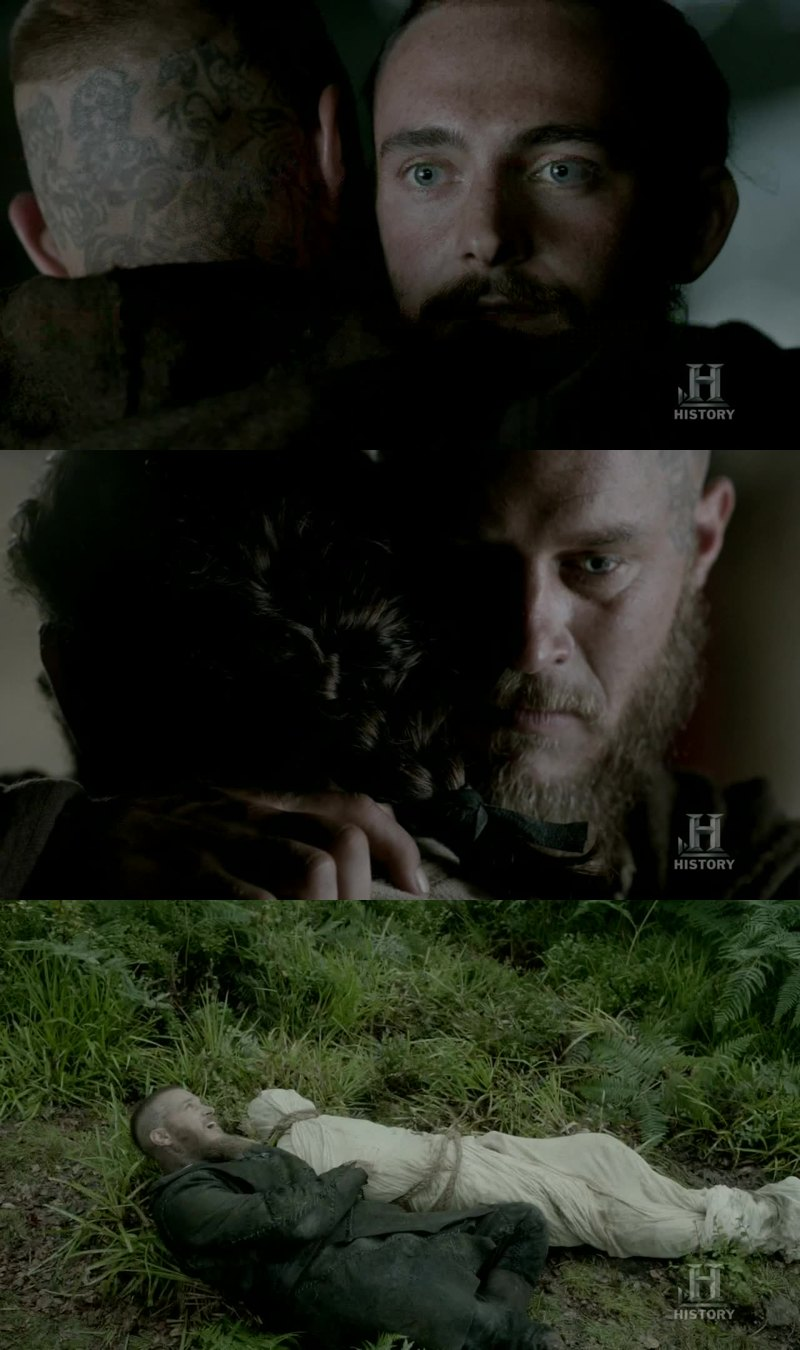 Their friendship was gold, I don't realize Athelstan is gone ... :( Now I hate Floki for what he has done !