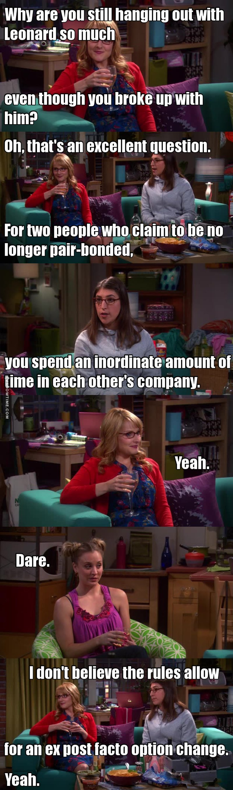 """Just by saying """"yeah"""" Bernadette makes me laugh xD"""