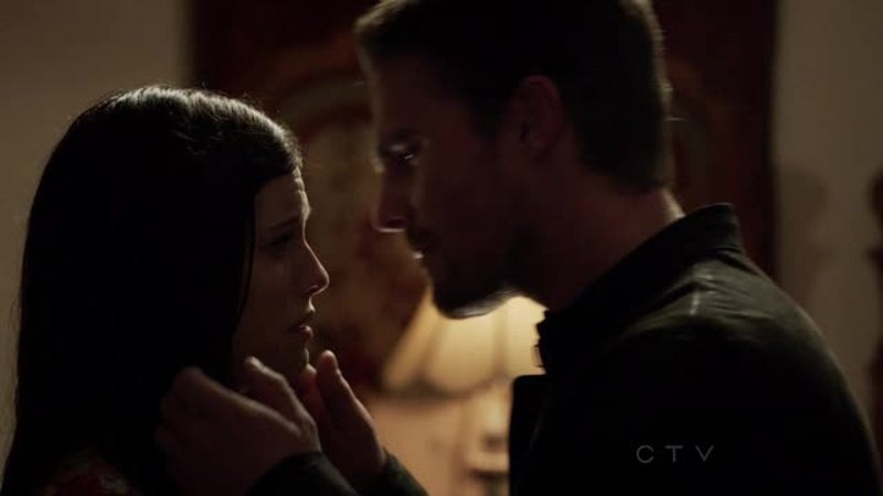 Okay...so Oliver kisses the woman who hurts her mother...whatsoever