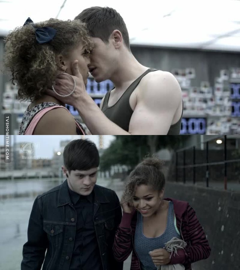 I think that Barry (Simon ah aah) will be able to touch Alisha because he will truly love her :)  I guss that people will be able to touch are only if they love her.