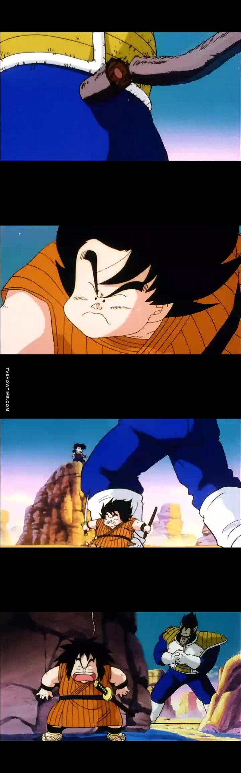 Esse é grande feito (e único) do Yajirobe em todo Dragon Ball. Bem que poderia ter a opção de votar nele como o melhor do episódio, pô!