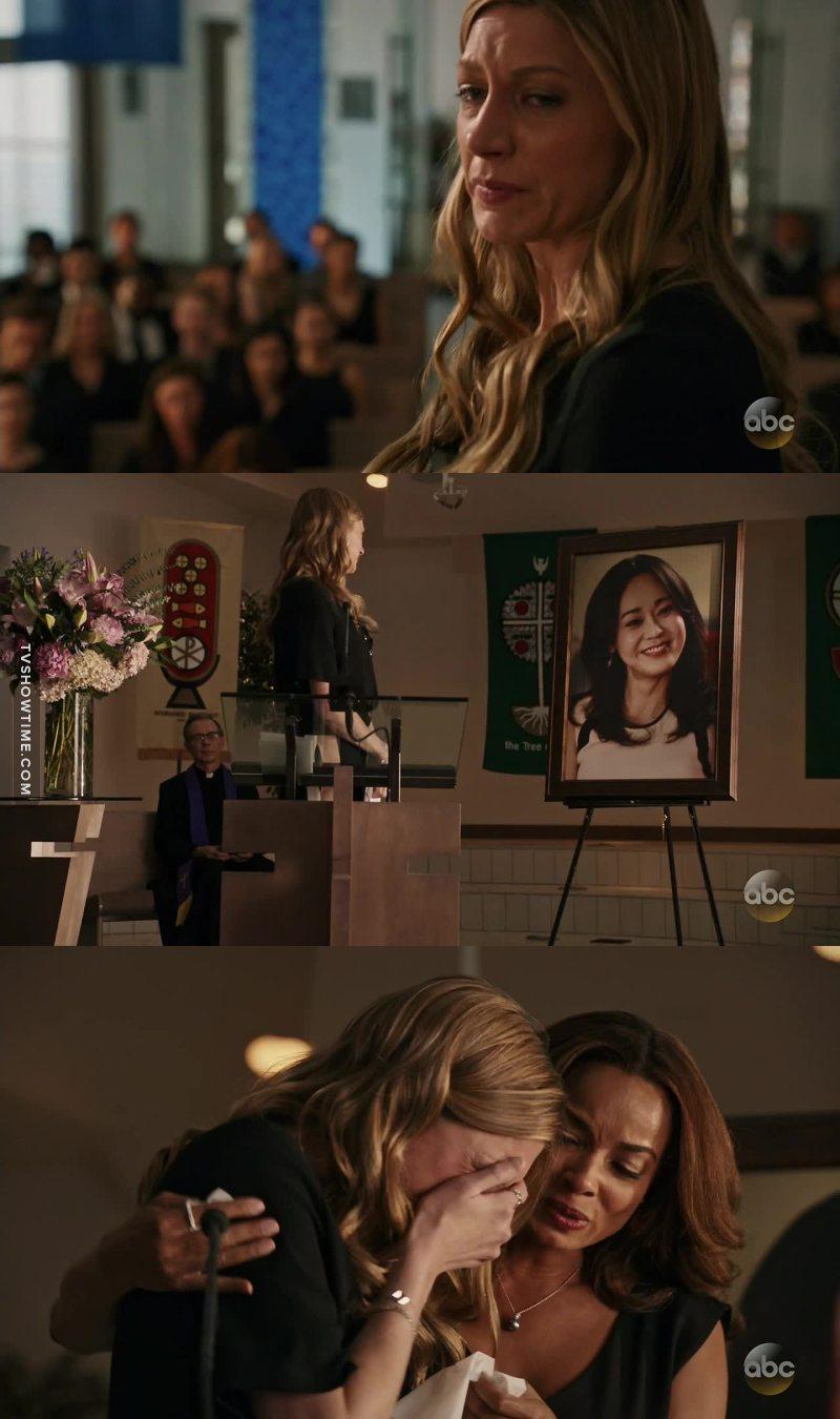 """Karen my hero, my sister, my best friend I miss you already""   This scene was heartbreaking 😢💔"