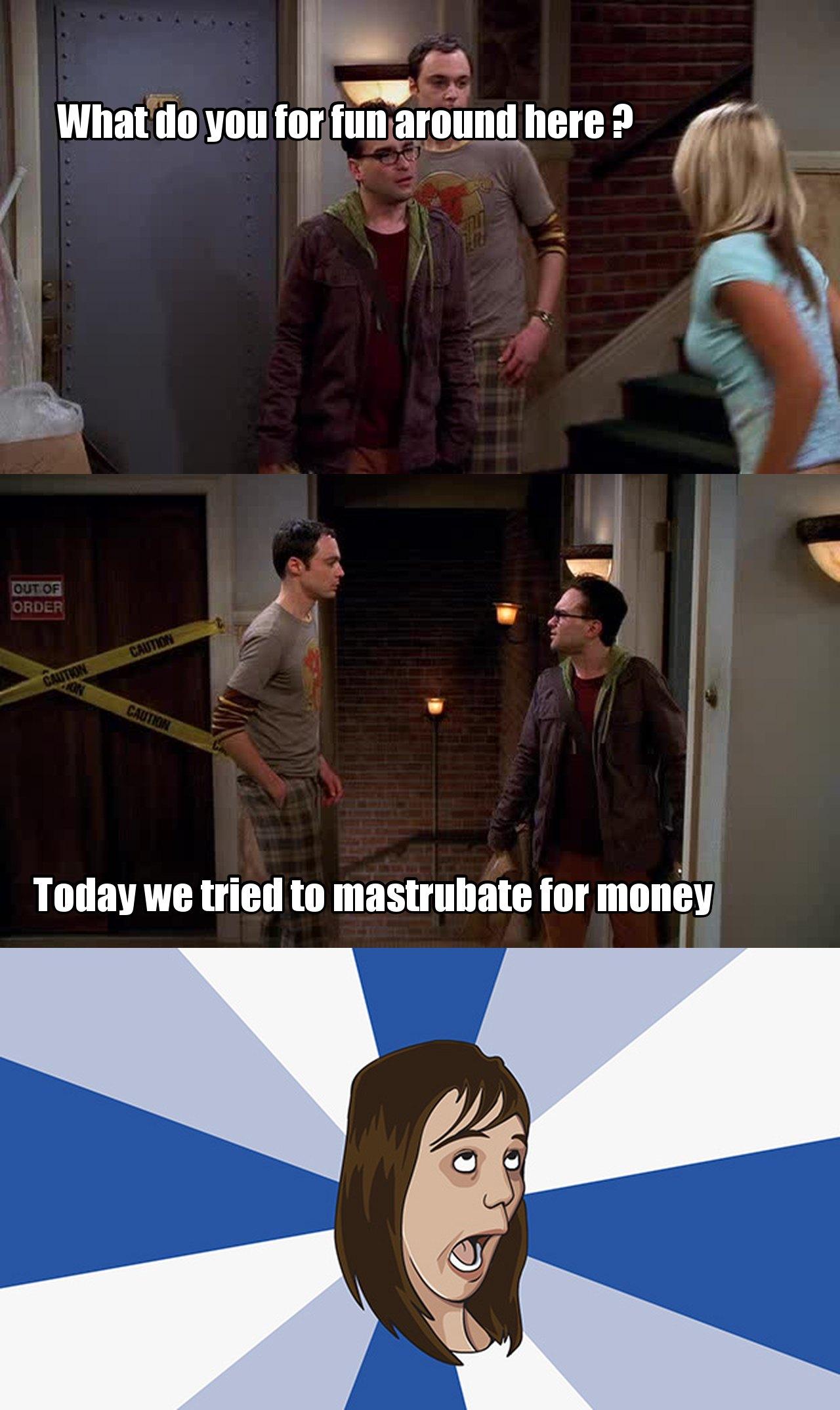 Honest Sheldon :)