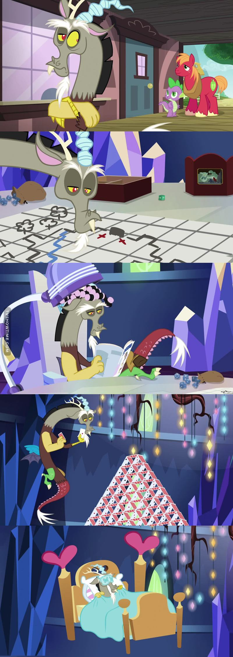 I normally really like Discord, but in this episode he was ... a little bit too selfish ...