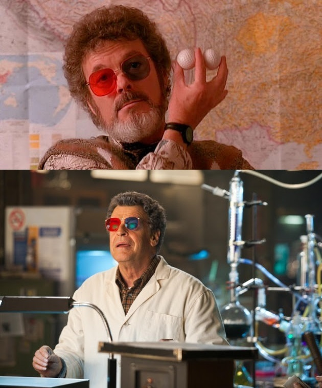 Walter has Dr Jacoby's glasses from Twin Peaks :o