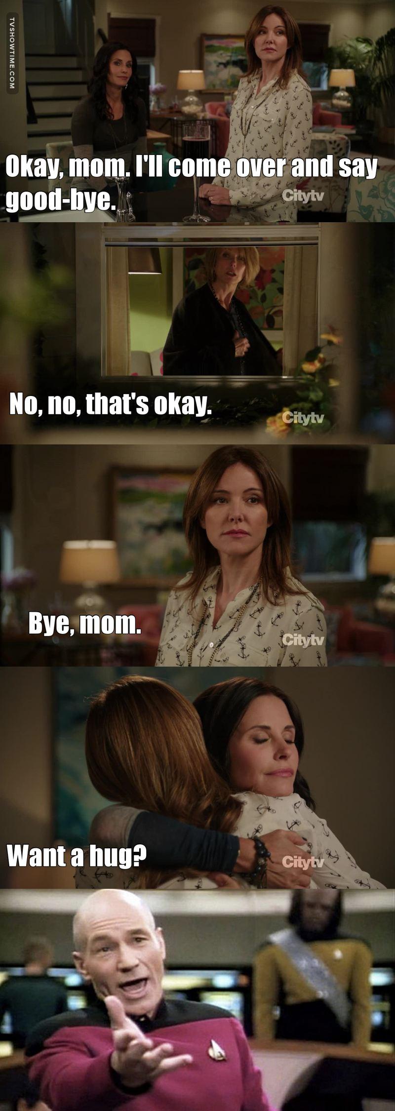 I cried!