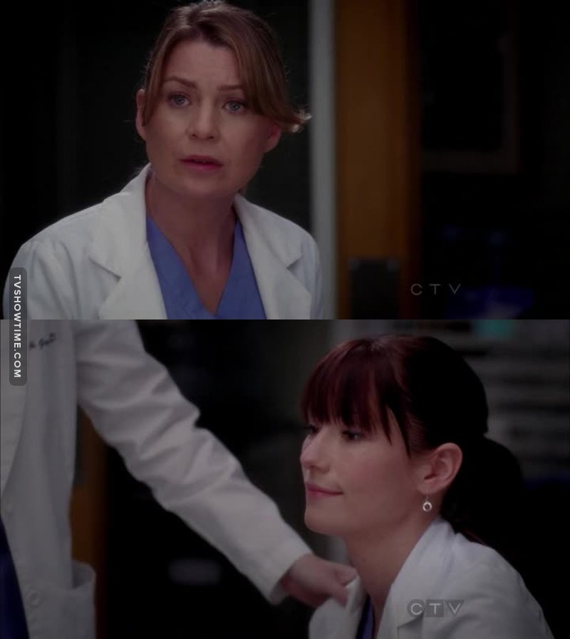 '' No more using my sister like a database. We broke her.  It's over. ''  Mer ❤️❤️❤️