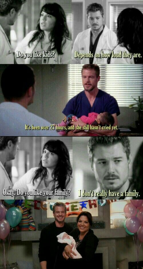 I won't forget this amazing man who at first had appearently nothing and was an actual dumb, then changed completely. Had a family, a kid, a lover. RIP Mark Sloan 😭
