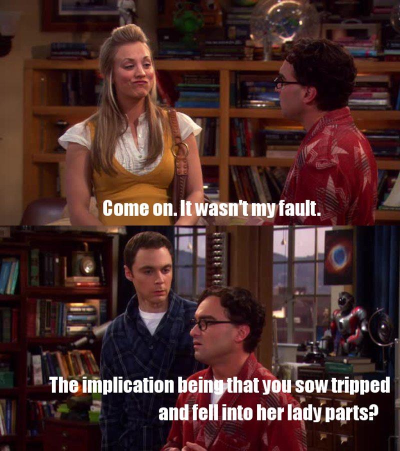 Sheldon 😂