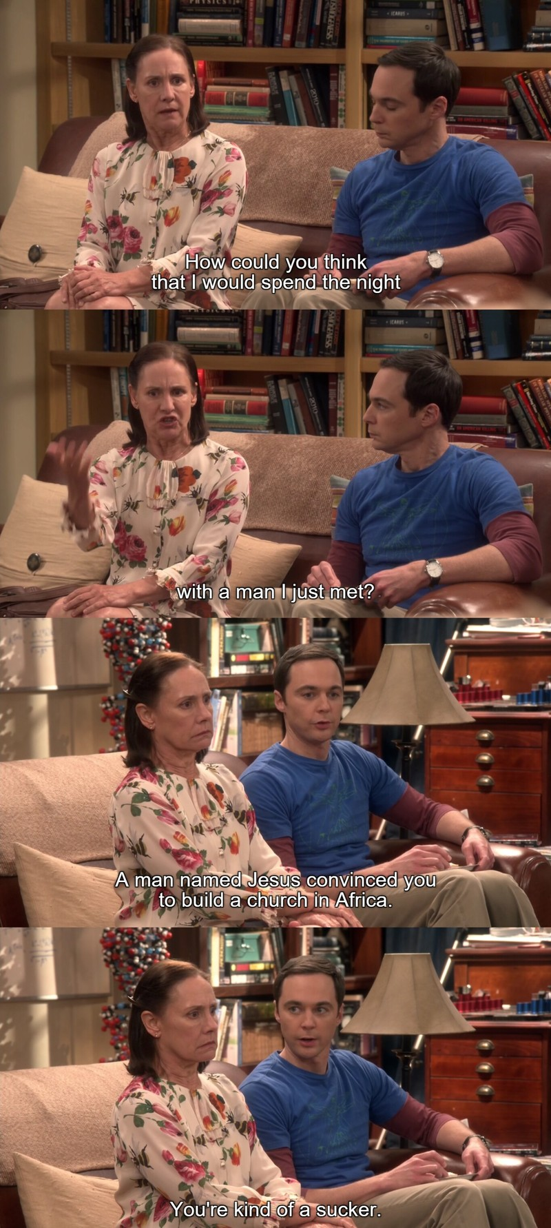 Sheldon made me laugh a lot in this scene! 😂😂😂