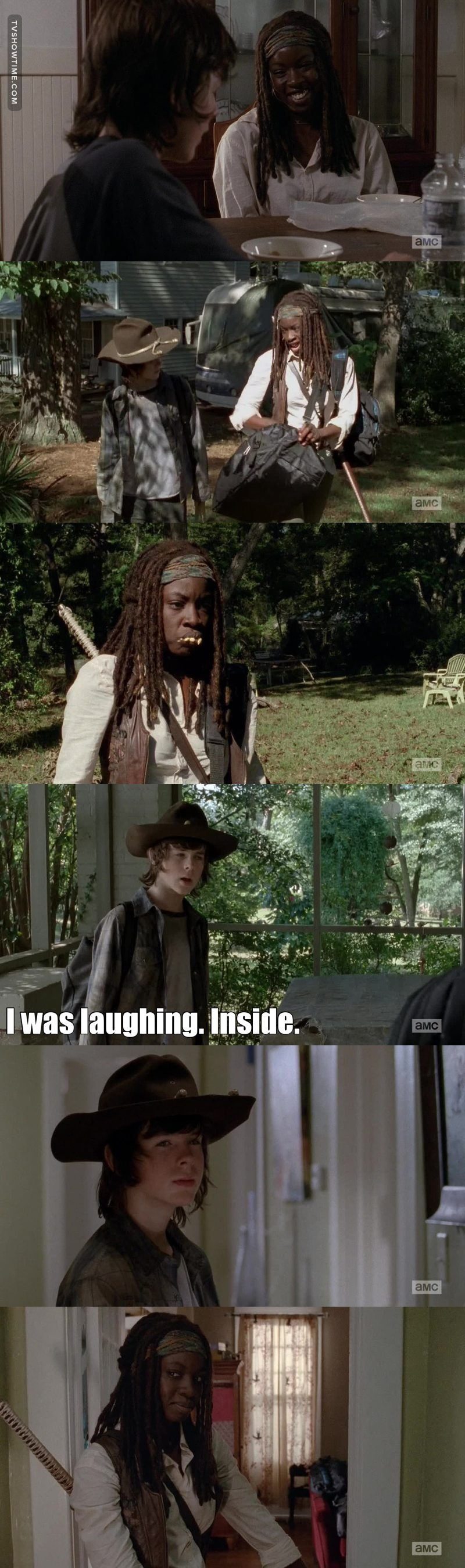 Michonne is amazing. I love her 😍❤️ and i love her relationship with Carl