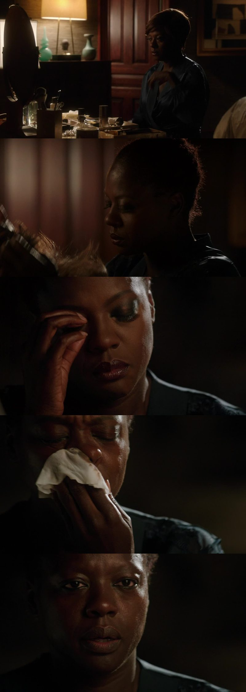 That moment was just the bestest of the entire episode. For the first time I saw the real Annalise Keaton.   Let me just say that it was something.