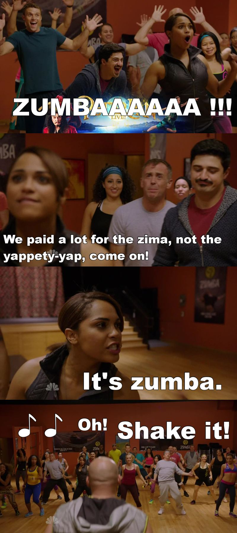 I'm a Zumba lover and this is so hilarious 😂😂😂 Ho riso come una pazza 😂😂😂 ZUMBAAAAA !!!!!