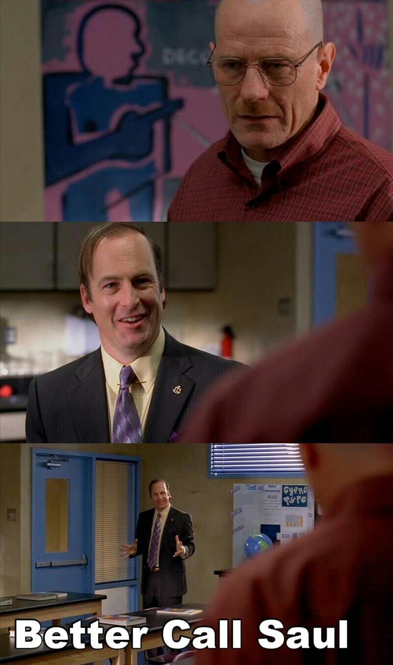 I hope Walt can trust him 'Cause I really like him 😹😹💕👌.