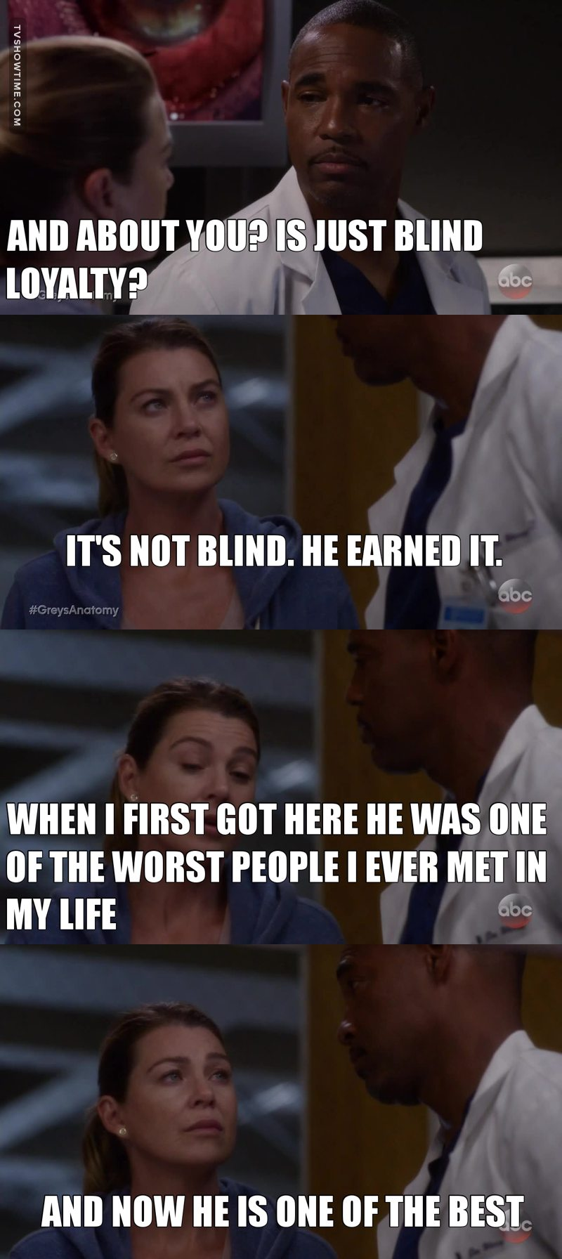 That was so true! Alex became an amazing person. But as Mer said both bad and good Alex are still in that. And we have to make sure that the right one wins.