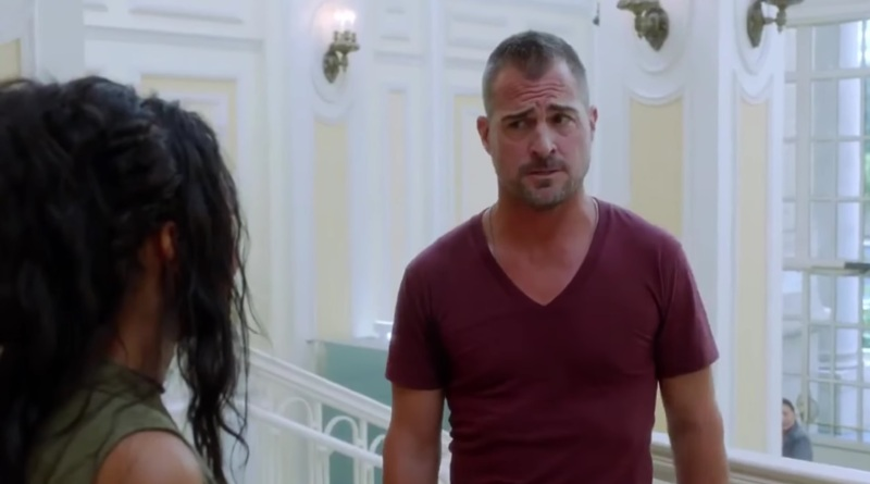 My man never jokes about tinfoil. Good to see George Eads again. My favorite part of the show!