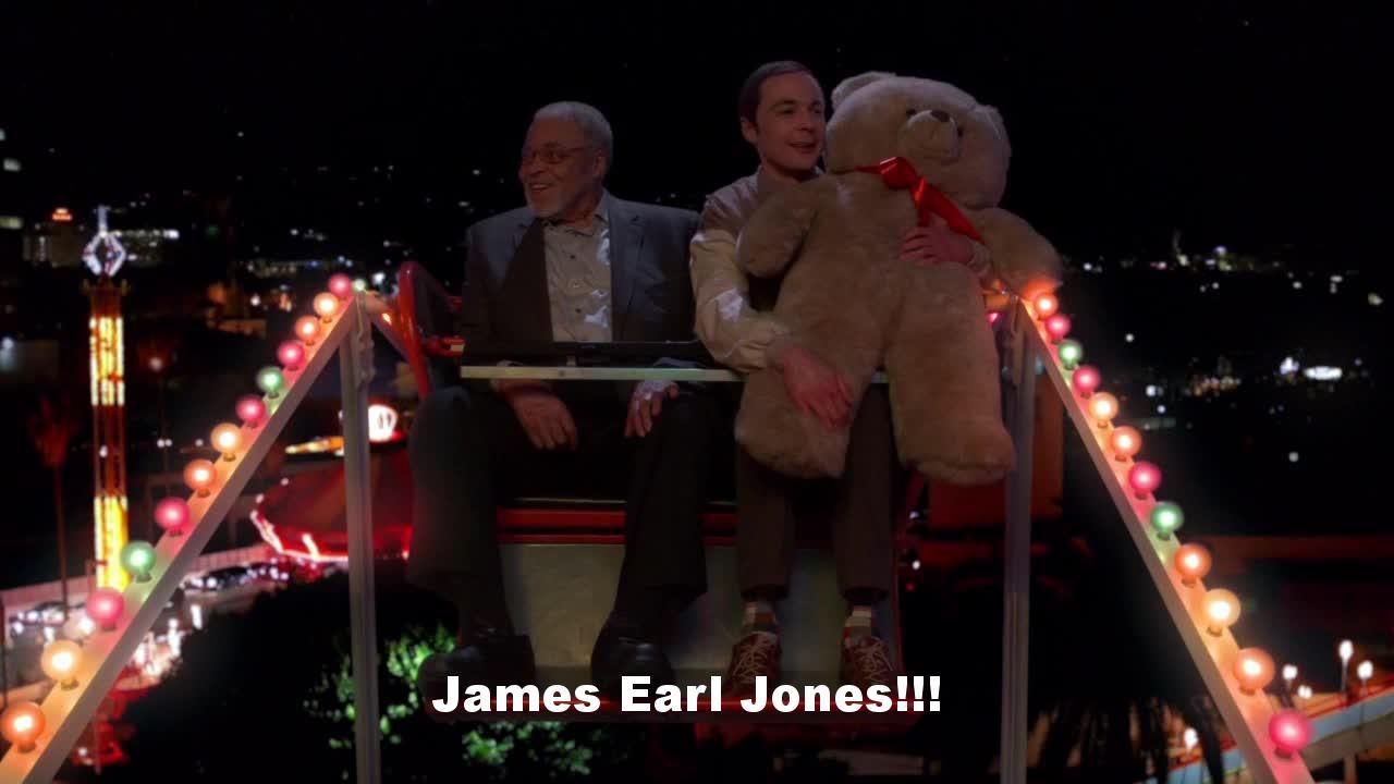 James Earl Jones!!!