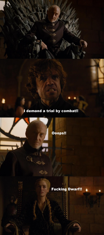 Superb Tyrion!!