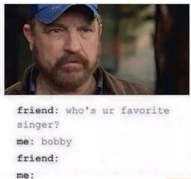 Bobby we'll miss you so much.💔😭