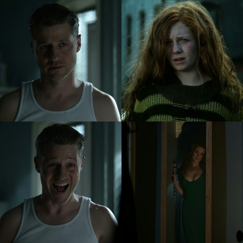 Jim Gordon reactions define me in this episode.  Ivy Poison is so hot OMG 😍😍😍