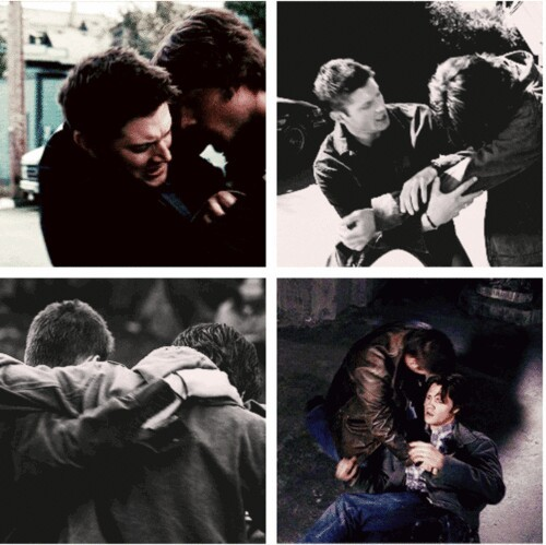 Always there for carry on his brother❤