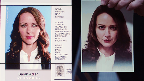 I'll take that as proof that it's actually Root on a covert mission for the Machine and Sarah Adler is just another alias. Also, why can't I vote for her character? She was the best thing about this episode.