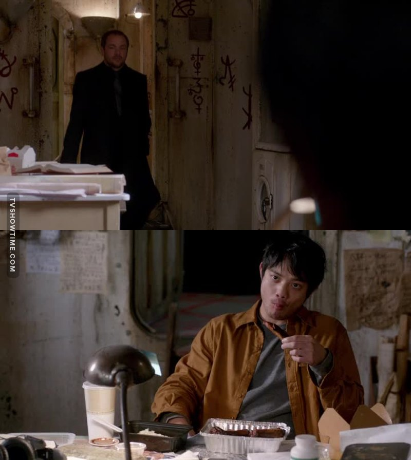 This is how you face the king of hell! But it makes me so sad that only a year ago he was just an awkward AP student. And if Metatron didn't ignore him, he would have avoided a lot of pain.