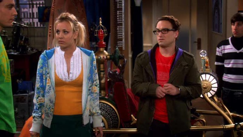 Sheldon: It's a Time Machine...   Penny: Oh, please, it's not a time machine. If anything, it looks like... ...something Elton John would drive through the Everglades.