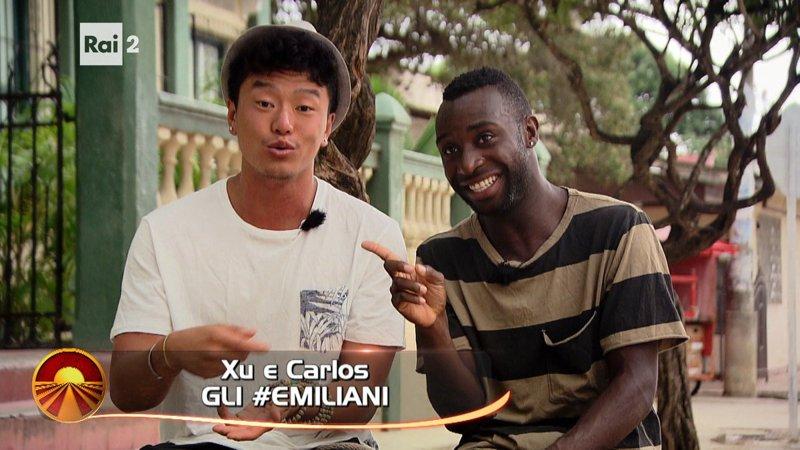 Tutto ciò che voglio è una gioia per Xu e Carlos