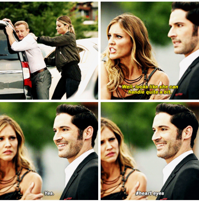 Aww Lucifer. He's in love 😍 and now mother knows.