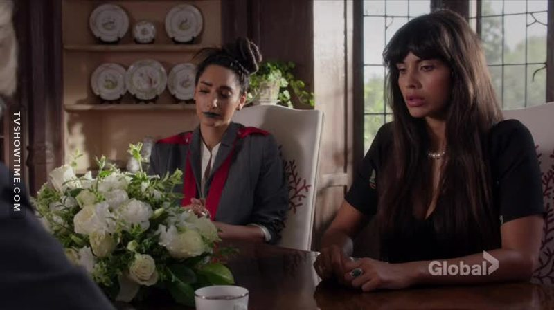 I felt bad for Tahani in this episode, all she wanted was the love of her parents and they never showed it to her. :(